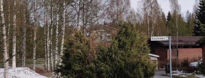 Heinälampi is one of Jyväskylän kaupunginosat.