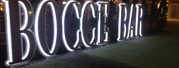 Bocce Bar is one of Miami Restaurants.
