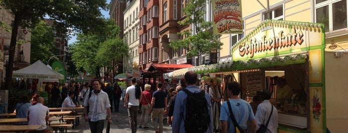 Lange Reihe is one of Hamburg.