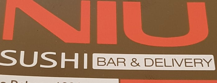 Niu Sushi is one of Lieux qui ont plu à Ely.