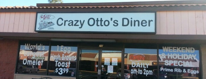 Otto's Empire Diner is one of PHX Dining in The Valley'hood.
