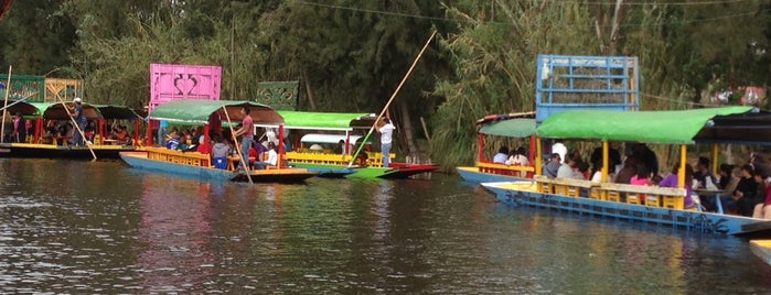Xochimilco is one of D.F..