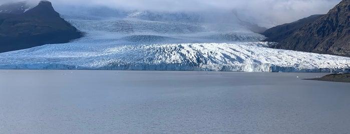Fjallsárlón Glacier Lagoon is one of Erik'in Beğendiği Mekanlar.