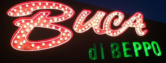 Buca di Beppo is one of Gさんの保存済みスポット.