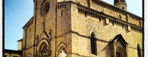 Duomo di Arezzo is one of Locais curtidos por Alan.