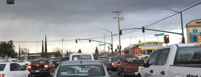Sunrise Boulevard & Old Auburn Road is one of roads.