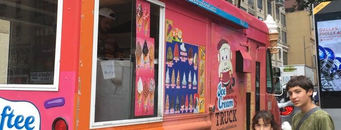 iCrossing Ice Cream Social is one of I Scream badge- New York.