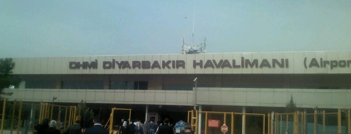 Diyarbakır Havalimanı (DIY) is one of HAVALİMANLARI /  AİRPORTS  All The World.