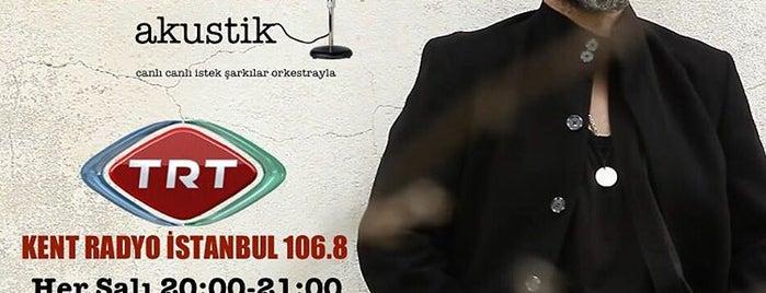TRT İstanbul Radyosu Yemekhane is one of Mesrure 님이 좋아한 장소.