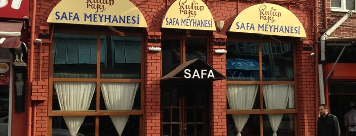 Safa Meyhanesi is one of Vedat Milor İstanbul 100 Lokanta.