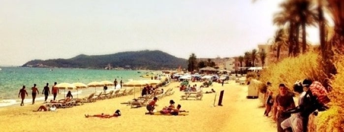Platja d'En Bossa is one of Ibiza Must-sees.