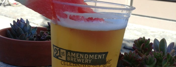 21st Amendment Brewery & Restaurant is one of West Coast Breweries.