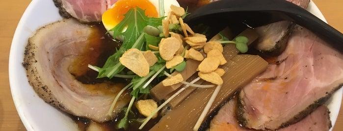 麺人 ばろむ庵 is one of Posti che sono piaciuti a Shinsuke.