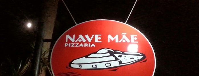 Nave Mãe Pizzaria is one of Restaurantes Floripa.