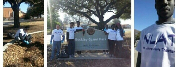 Beckley-Saner Park is one of Dallas Parks.