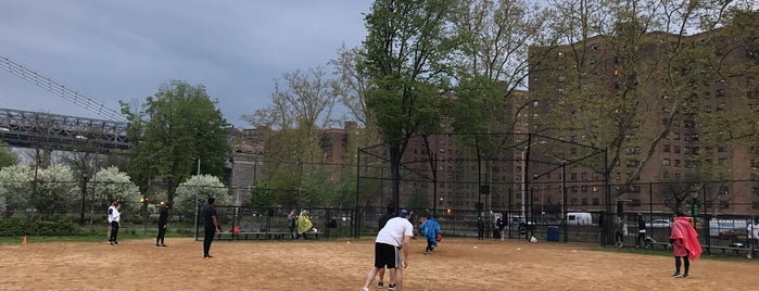 East River Park Fields is one of DINA4NYC.