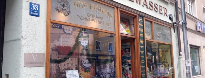 Otto Pachmayr Getränke is one of Where to buy beer in Munich.