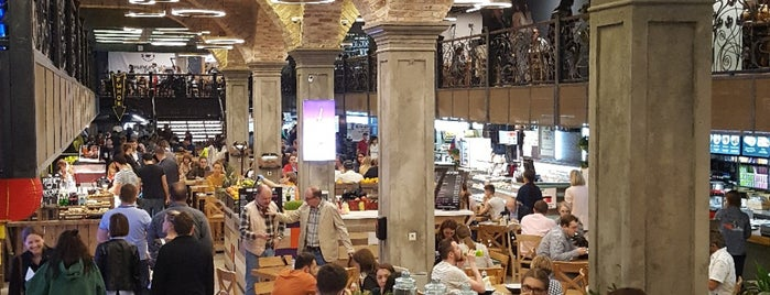 Central Market is one of moscow restplace.