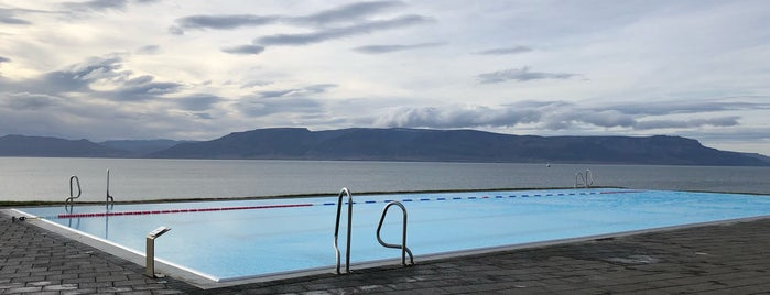 Sundlaugin á Hofsósi is one of Iceland 2017.