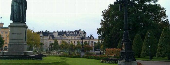 Carl Johans park is one of Maria'nın Beğendiği Mekanlar.