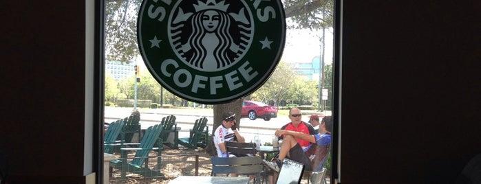 Starbucks is one of Austin's Rockin' Fitness Scene.