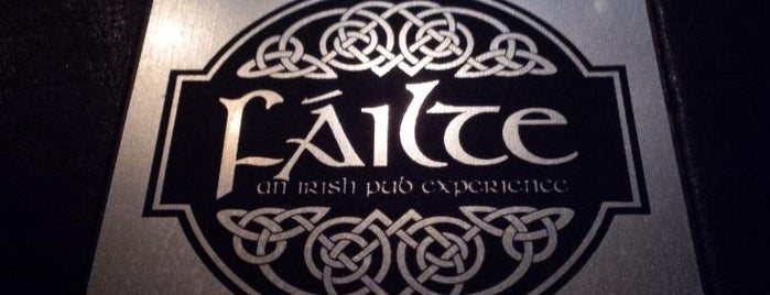 Failte Irish Pub is one of Beers and Cheers in the GTA.
