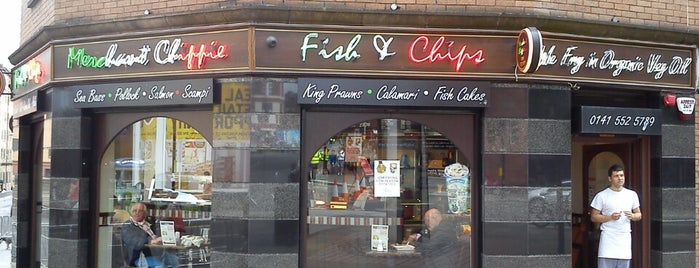 Merchant Chippie is one of Glasgow.