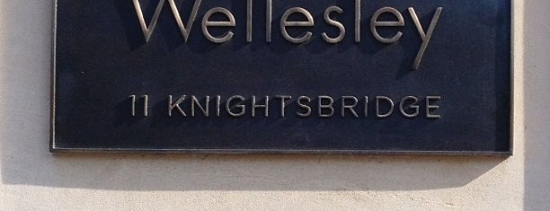 The Wellesley Knightsbridge is one of London.