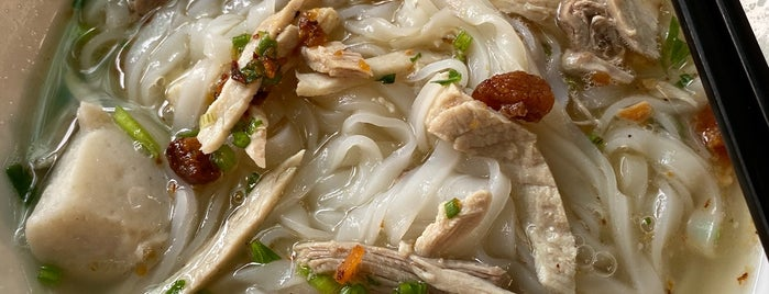羅記鴨肉粿條湯 is one of Penang.