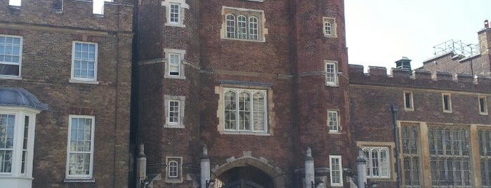 St James's Palace is one of London.
