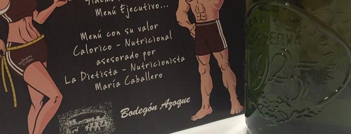 Bodega Azoque is one of Locais curtidos por Francisco.