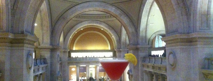 The Great Hall Balcony Bar is one of NYC.