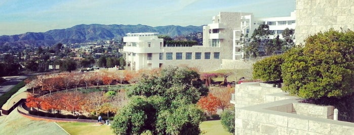 J. Paul Getty Museum is one of Where to Find Free WiFi in LA.