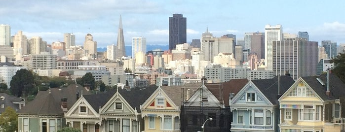 Alamo Square is one of San Francisco Bay.