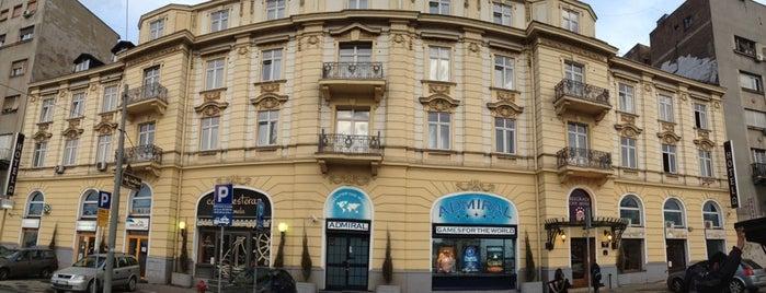Belgrade City Hotel is one of สถานที่ที่ Cigdem ถูกใจ.