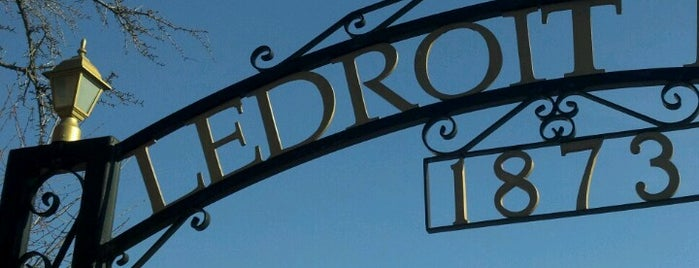 Ledroit Park Gate is one of 111 Places in Washington You Must Not Miss.