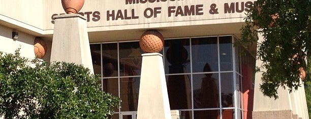 Mississippi Sports Hall of Fame is one of U.S. Road Trip.