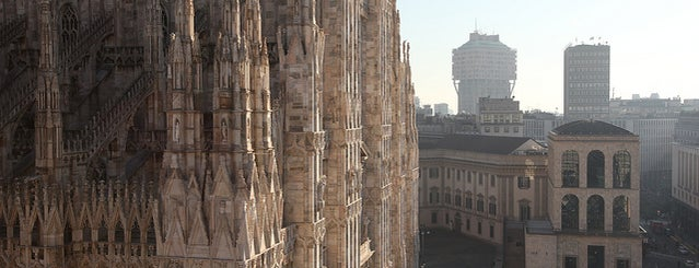 Duomo di Milano is one of it place.