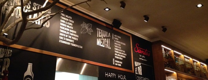 Santos Wieden | Mexican Grill & Bar is one of Tempat yang Disukai Helena.