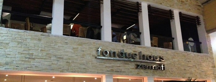 Fondue Haus Zermatt is one of Alineさんの保存済みスポット.