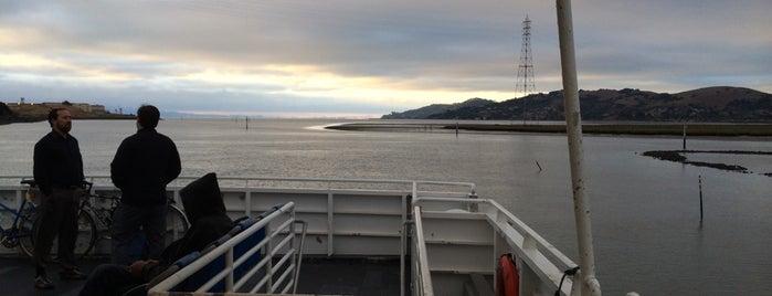 MV Mendocino is one of San Fran.
