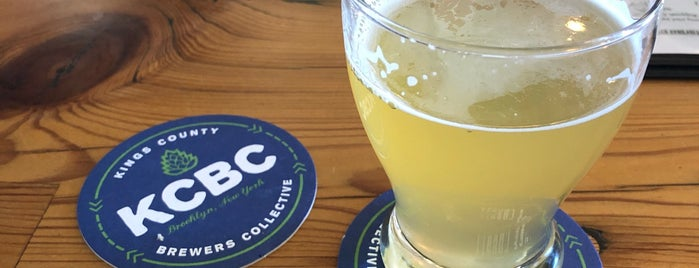 Kings County Brewers Collective is one of Maria & Brent Beer Tour.