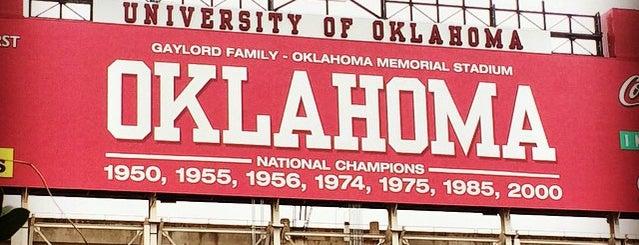 University of Oklahoma is one of Best of OKC Metro Area.