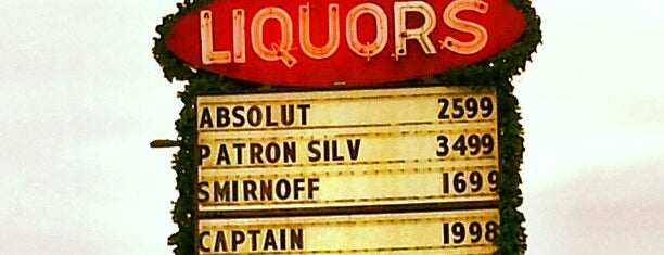 Kenwood Liquors is one of favorites.