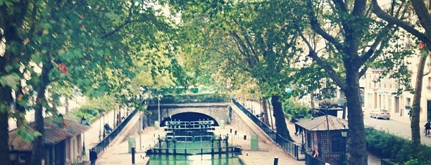 Canal Saint-Martin is one of P.
