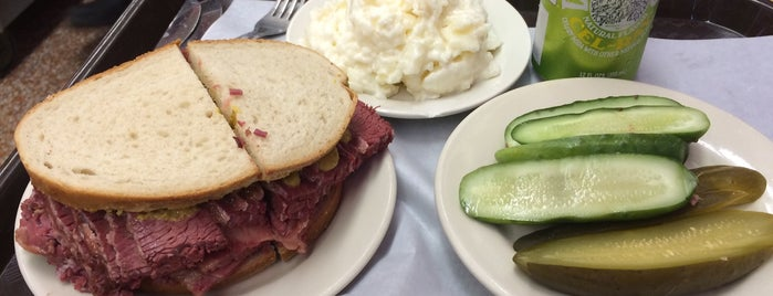 Katz's Delicatessen is one of Food Worth Stopping For.