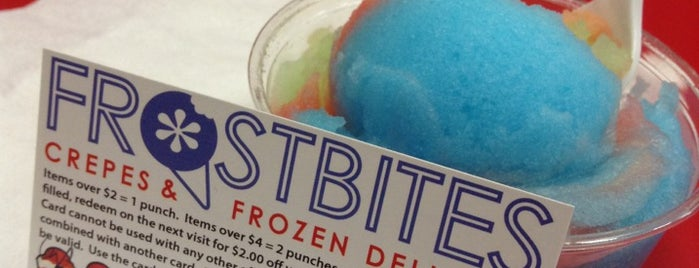 Frostbites is one of West Coast Bucketlist.