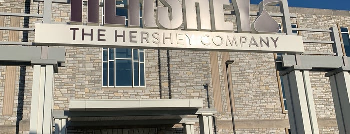 The Hershey Company is one of Lieux qui ont plu à Teresa.