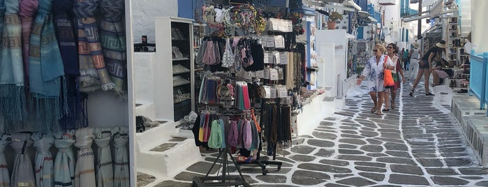 Old Market Street is one of Santorini + Mykonos.