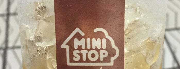 Ministop is one of コンビニ.